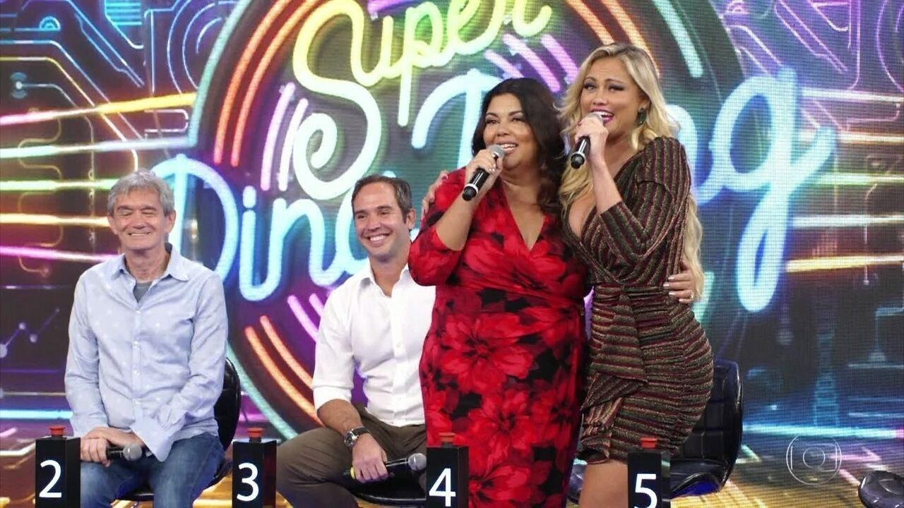 Fabiana Karla e Ellen Roche acertam e Paulo Ricardo vai ao palco