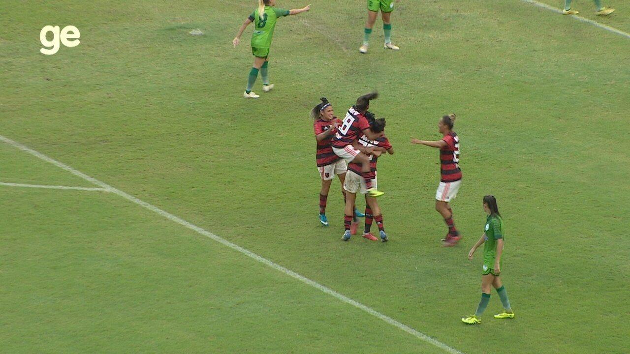 Veja os gols de Iranduba 0 x 3 Flamengo, pelo Brasileiro feminino
