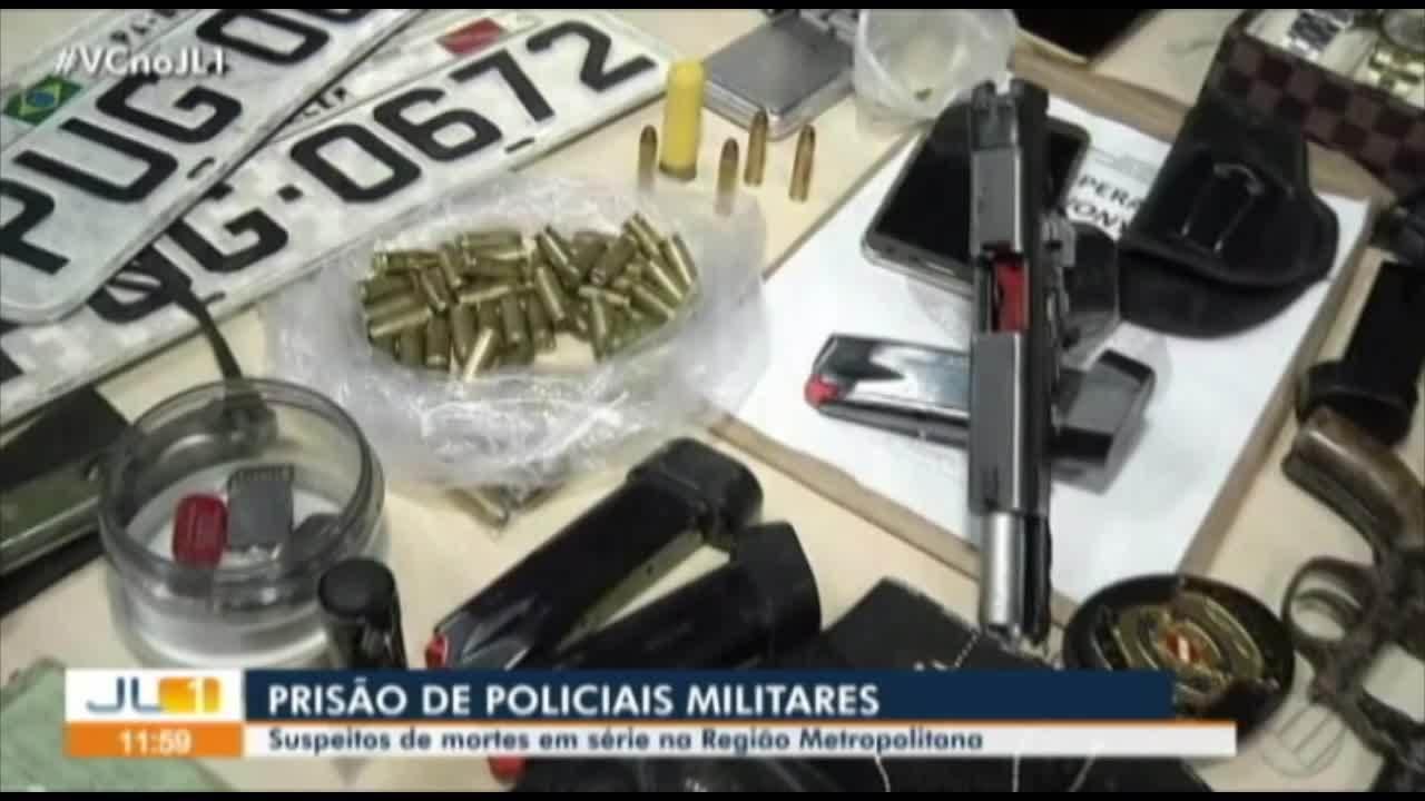 Operação prende PMs integrantes de grupos criminosos na região metropolitana de Belém