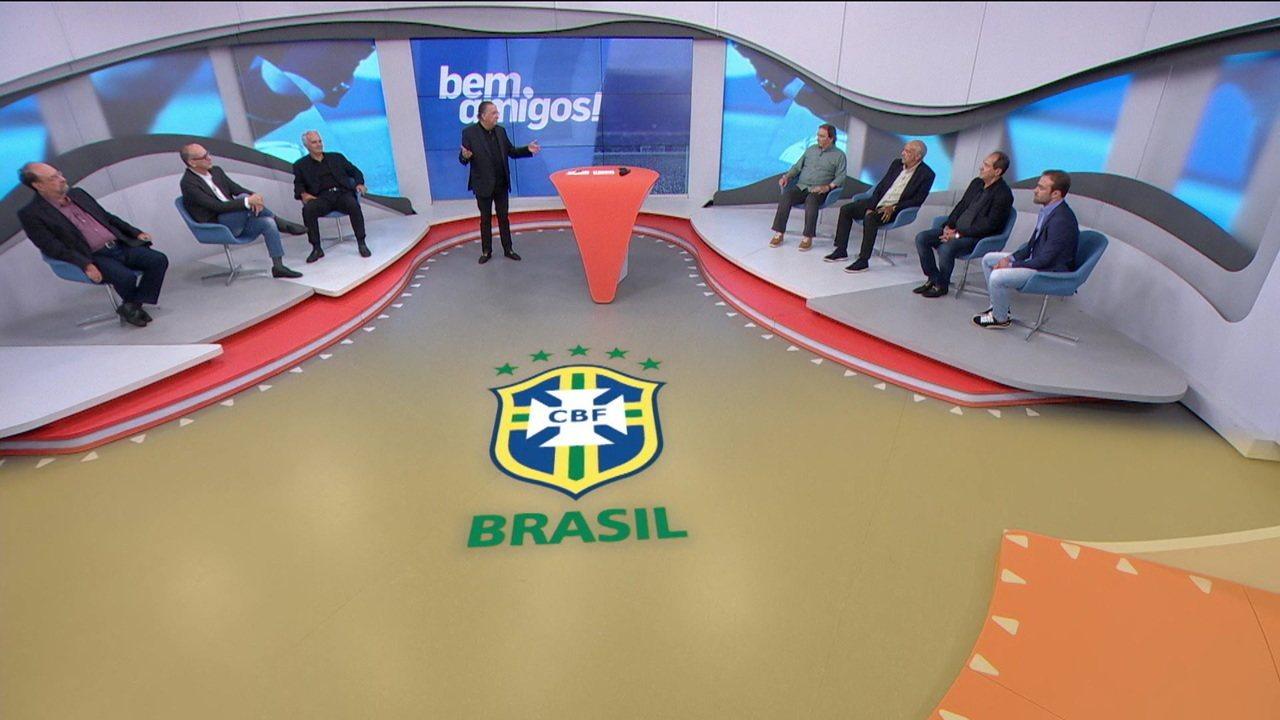 Comentaristas debatem sobre desenvolvimento de Vinicius Junior e Paquetá