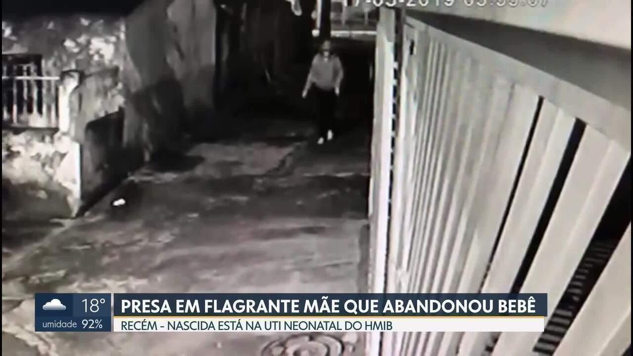 Presa em flagrante mãe que abandonou recém-nascida na Candangolândia