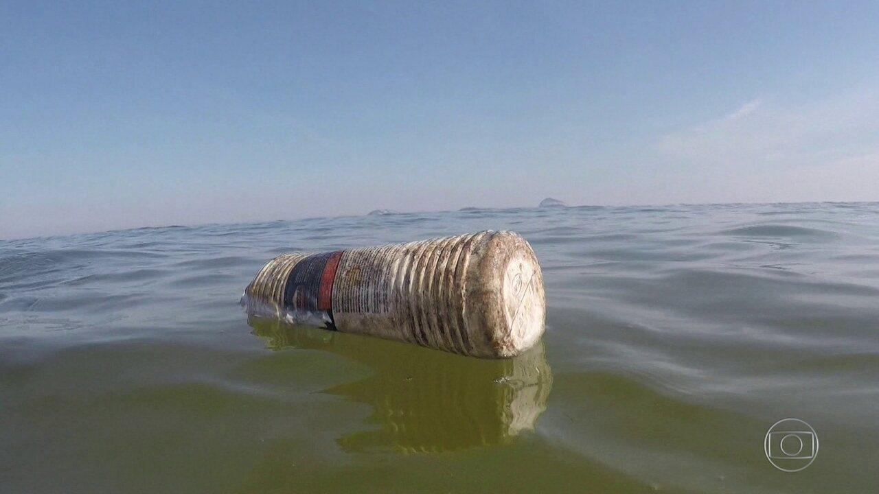 Bom Dia Rio faz blitz e encontra praias cheias de lixo plástico