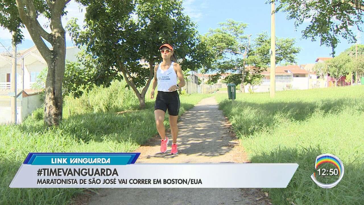 Massoterapeuta de São José vai correr na Maratona de Boston