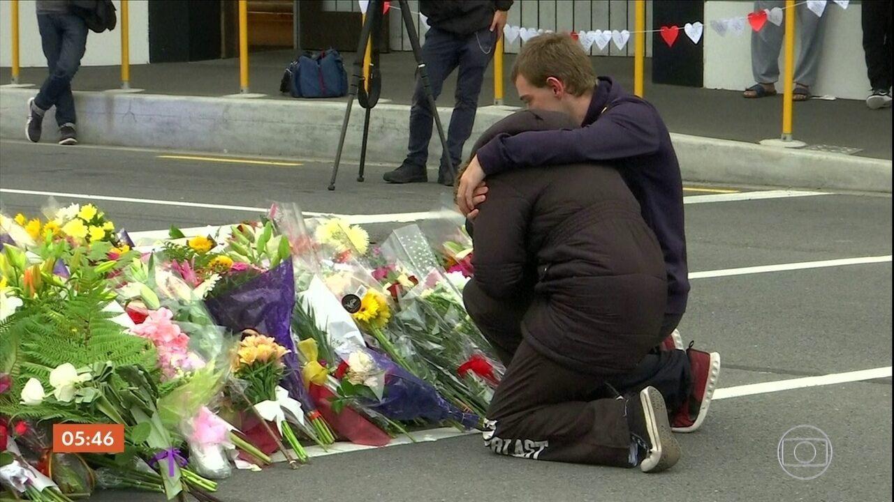 Começam os enterros dos corpos das vítimas de ataques a mesquitas na Nova Zelândia