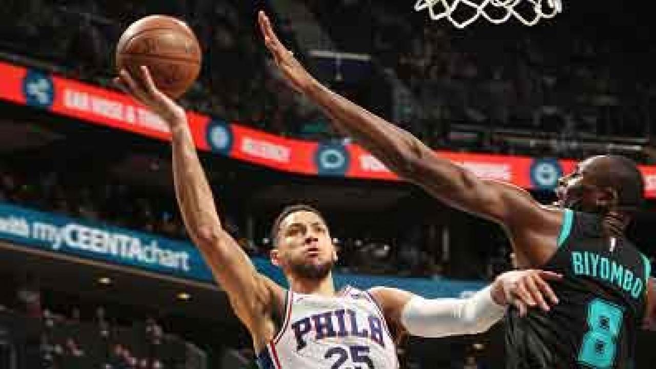 Melhores momentos: Philadelphia 76ers 118 x 114 Charlotte Hornets pela NBA