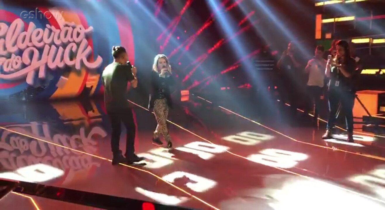 Sandy & Júnior passa som antes de gravar o 'Caldeirão'