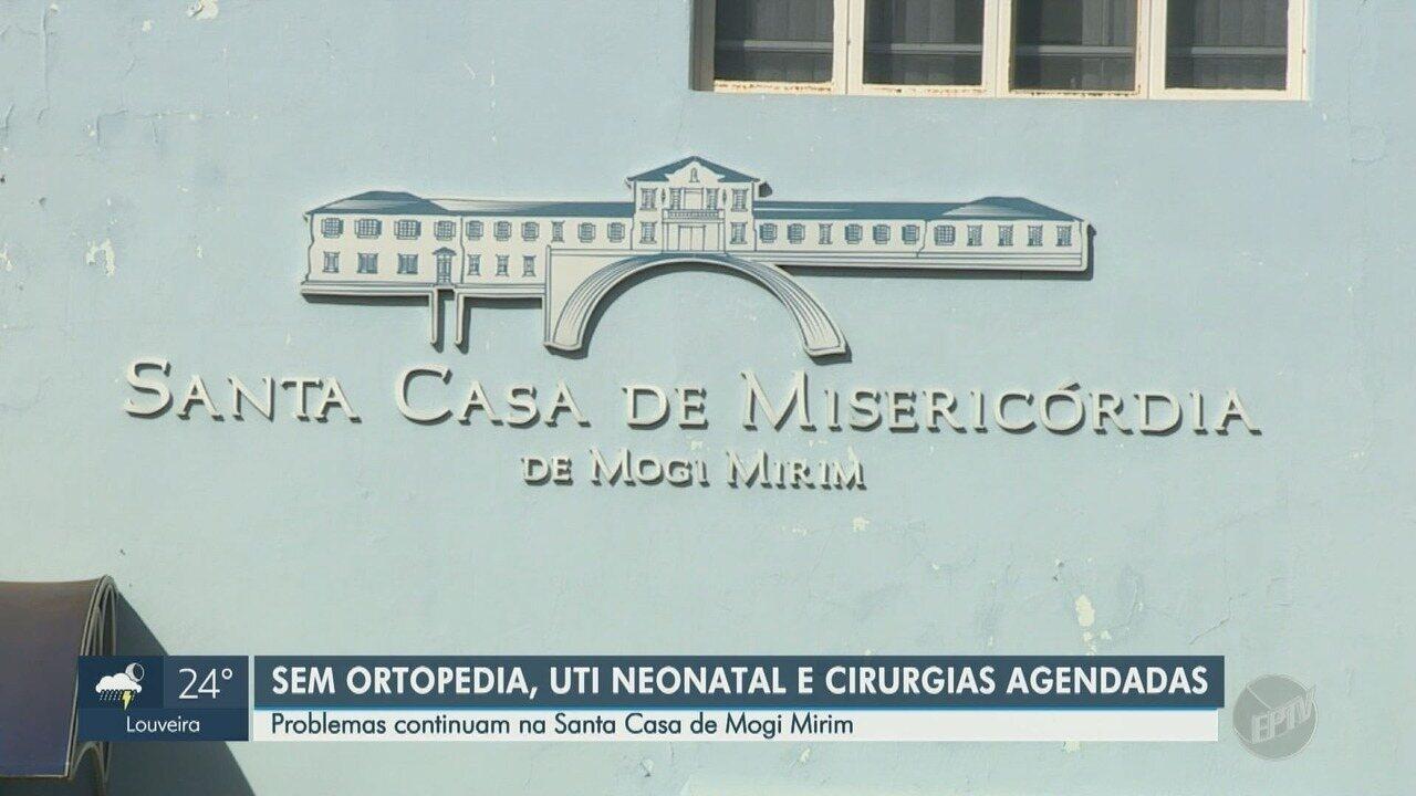 Em audiência, Santa Casa admite problemas e Mogi Mirim relata suspensões de verbas
