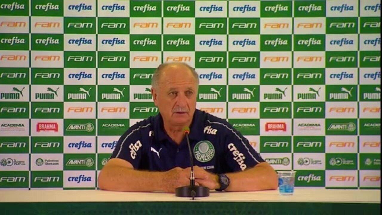 Veja a entrevista coletiva de Felipão após vitória do Palmeiras sobre a Ponte Preta