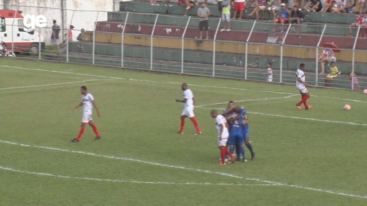 Veja os gols de Penarol 2 x 0 Fast, pelo returno do Amazonense
