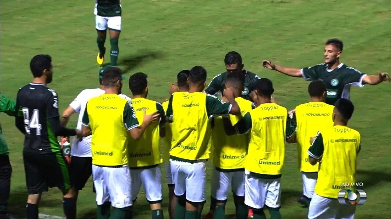 Os gols de Goiás 2x1 Iporá pelo Campeonato Goiano