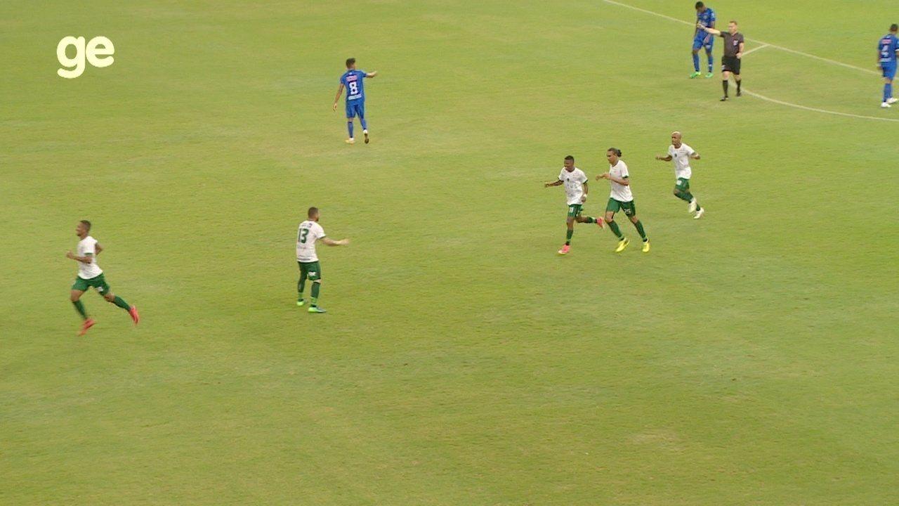 Veja os gols de Nacional 1 x 2 Manaus, pelo Amazonense