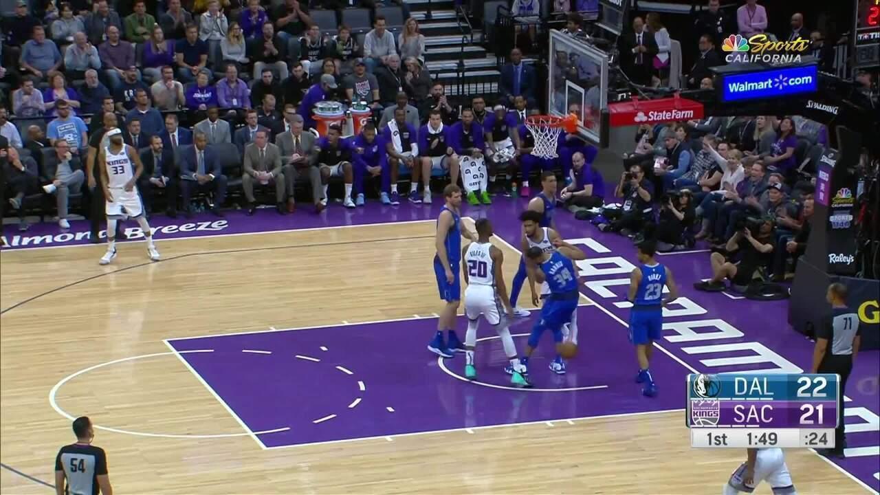 Melhores momentos: Sacramento Kings 116 x 100 Dallas Mavericks pela NBA