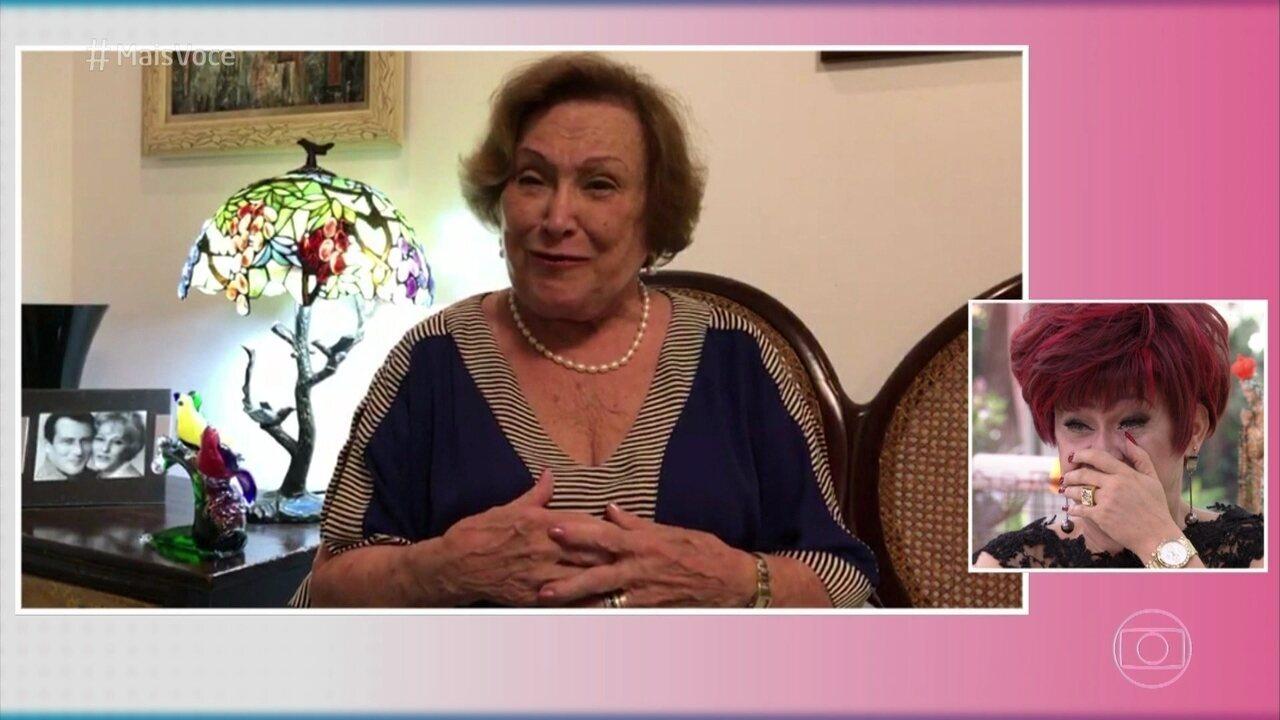 Nicette Bruno comemora o sucesso de Nany People na novela das 9