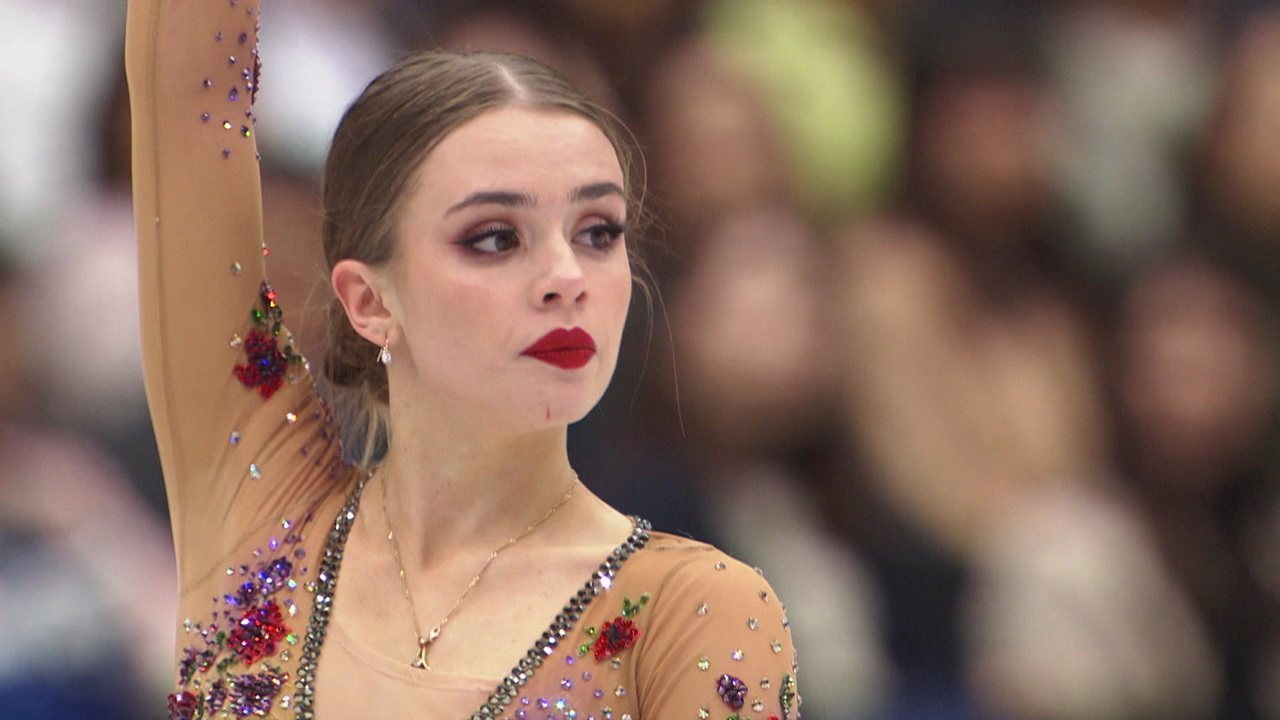 Veja a apresentação de Isadora Wiliams no Mundial de patinação artística no Japão
