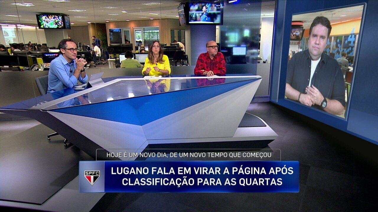 Lugano é mais um dirigente que tenta acalmar a crise no São Paulo