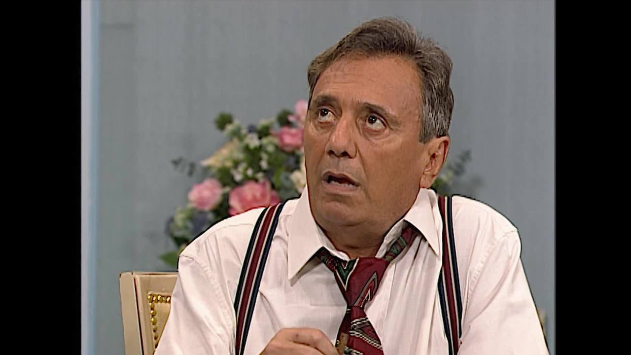 Agildo Ribeiro na primeira temporada do 'Zorra Total'