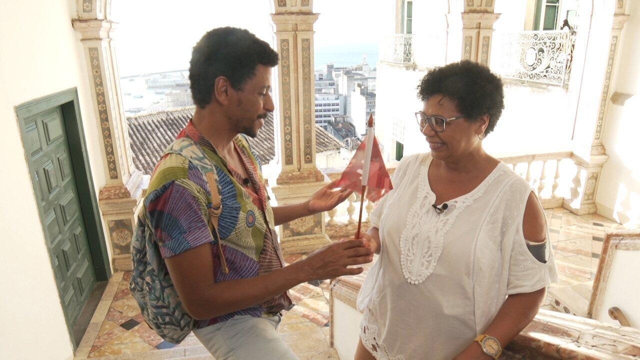 O 'Vumbora' desbrava a Rua Chile, a primeira do Brasil, e Nelson Cadena conta curiosidades