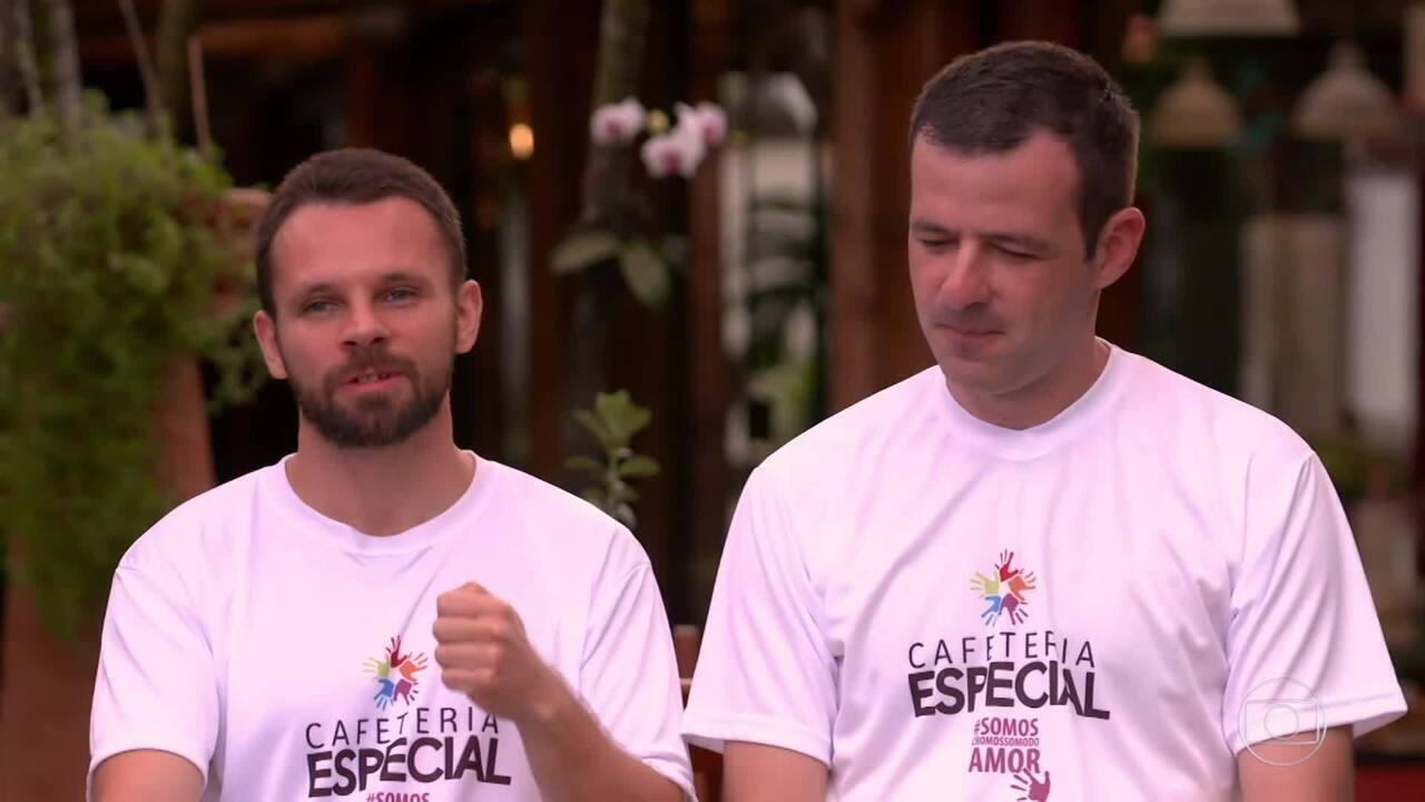 Conheça a história de Jorge e Delfino, os participantes do 'The Wall'