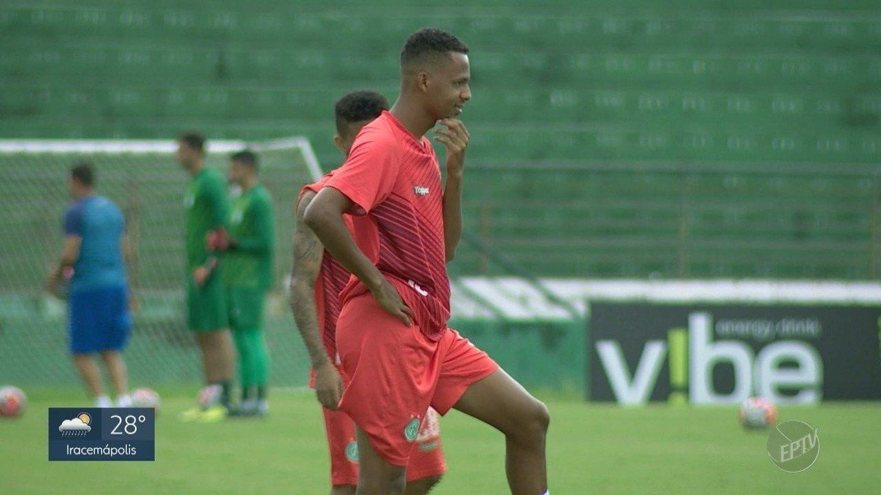 Guarani se prepara para o Brasileiro da série B