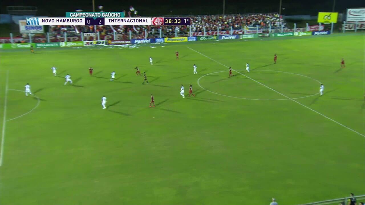 Tréllez escora e Sarrafiore marca golaço contra o Novo Hamburgo