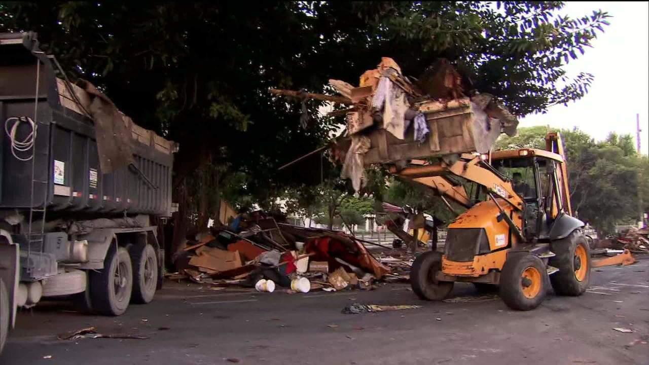 Prefeitura faz reintegração de posse em favela de São Paulo