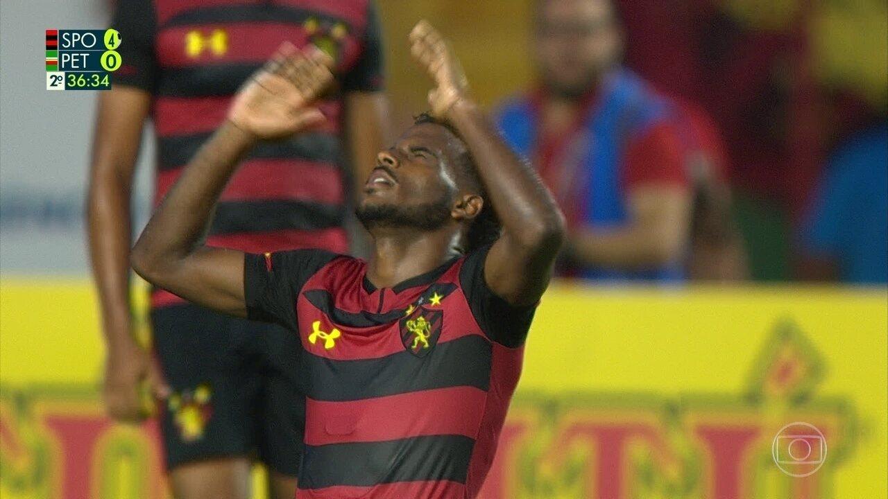 Veja o gol de Ezequiel com passe de Hernane