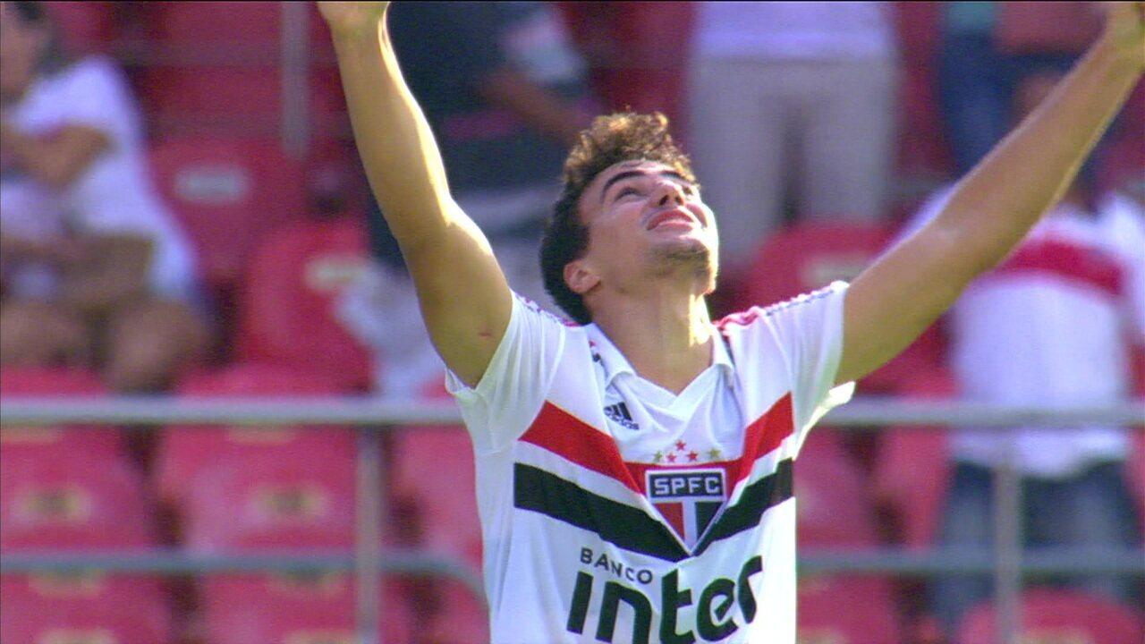 Gols de São Paulo 2 x 1 Ituano pelas quartas de final do Campeonato Paulista.