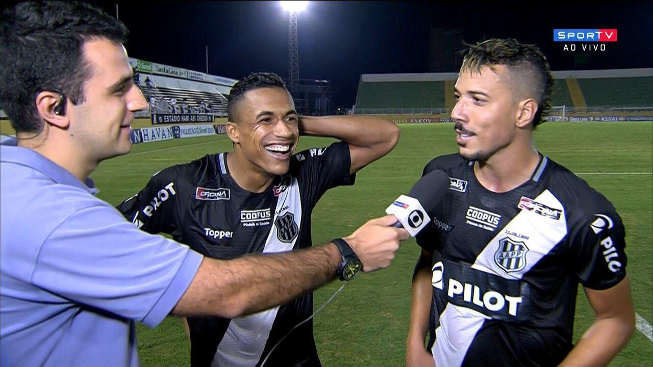 Arnaldo e Hugo Cabral comentam vitória da Ponte Preta sobre o Bragantino
