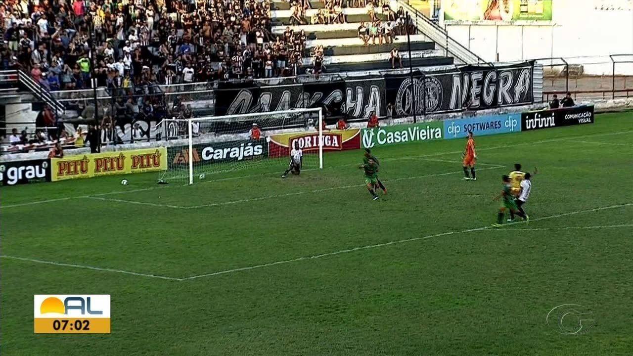 Coruripe aposta nos atacantes Aleff Manga e Etinho para o jogo contra o CSA