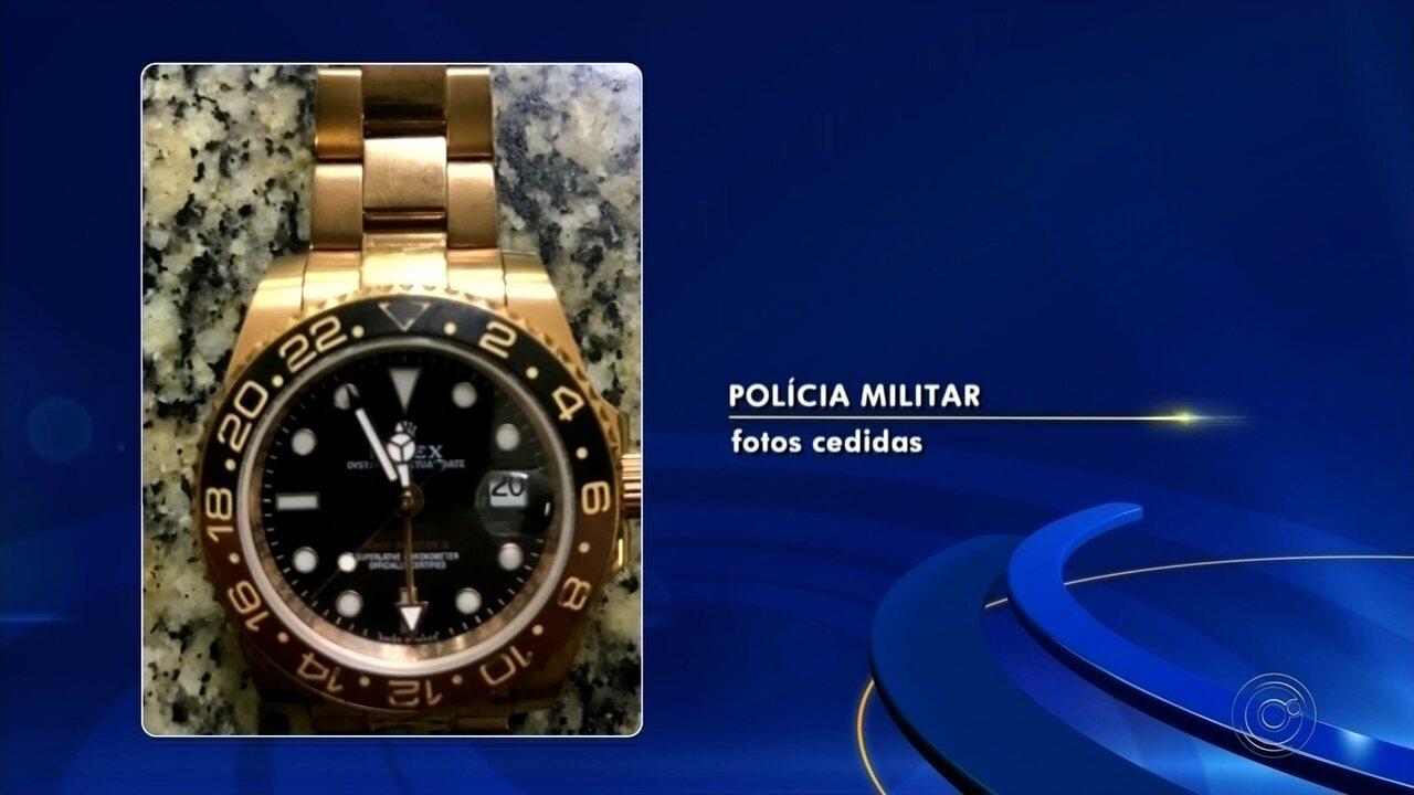 76f43d036cf Polícia afirma que quadrilha de roubo de relógios de luxo atua em outras  cidades