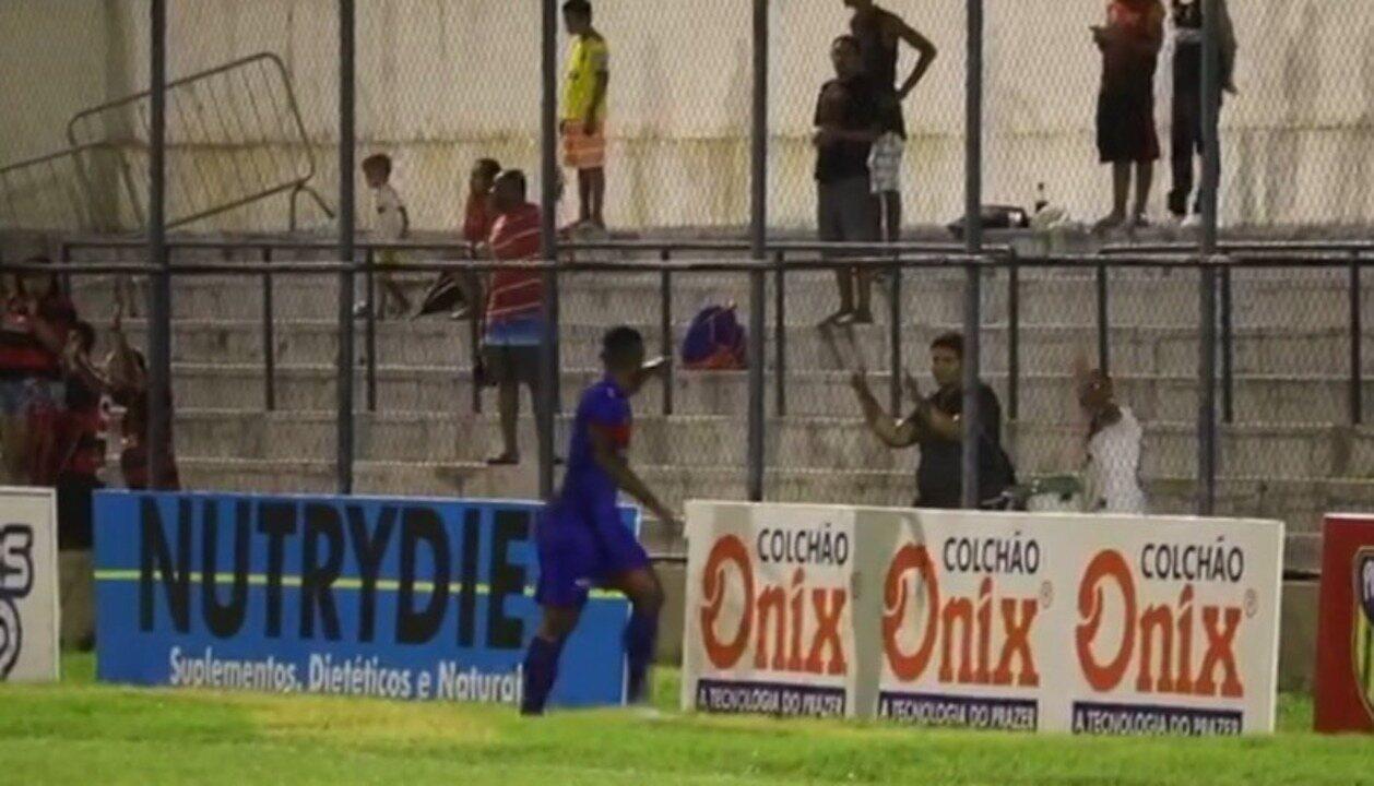 Jogador vítima de racismo fala sobre punição do Flamengo-PI