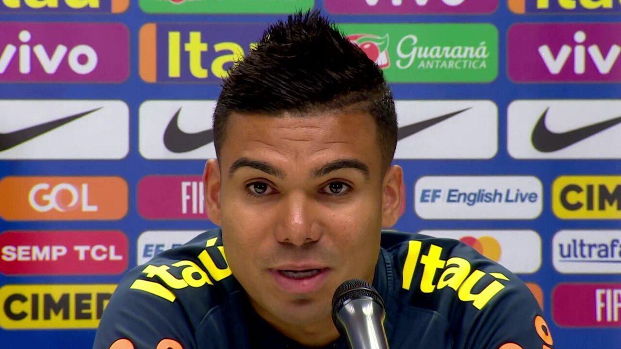 Casemiro fala sobre seguir como capitão da Seleção: