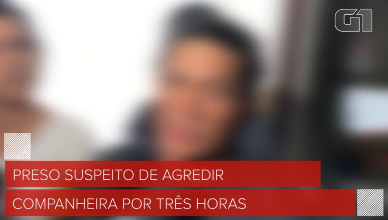 Homem é preso suspeito de agredir companheira por três horas, na Paraíba