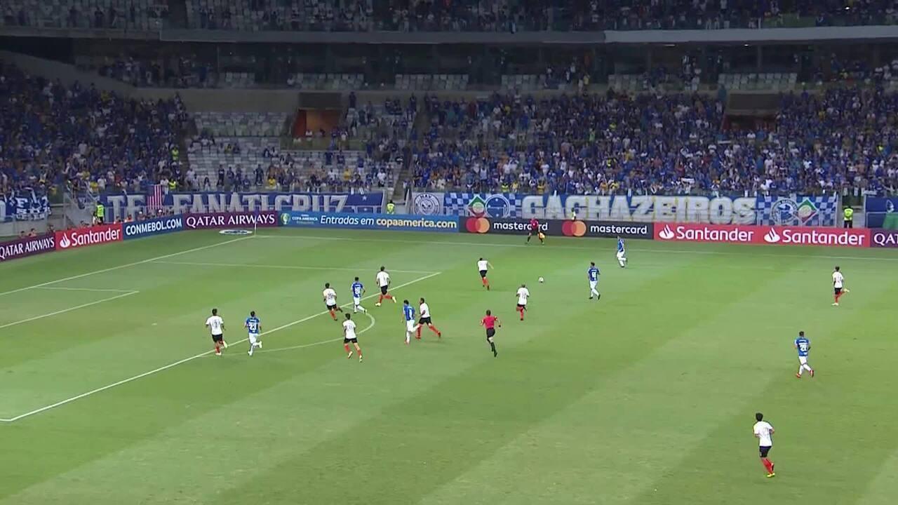 Melhores momentos de Cruzeiro 2 x 0 Deportivo Lara, pela Copa Libertadores