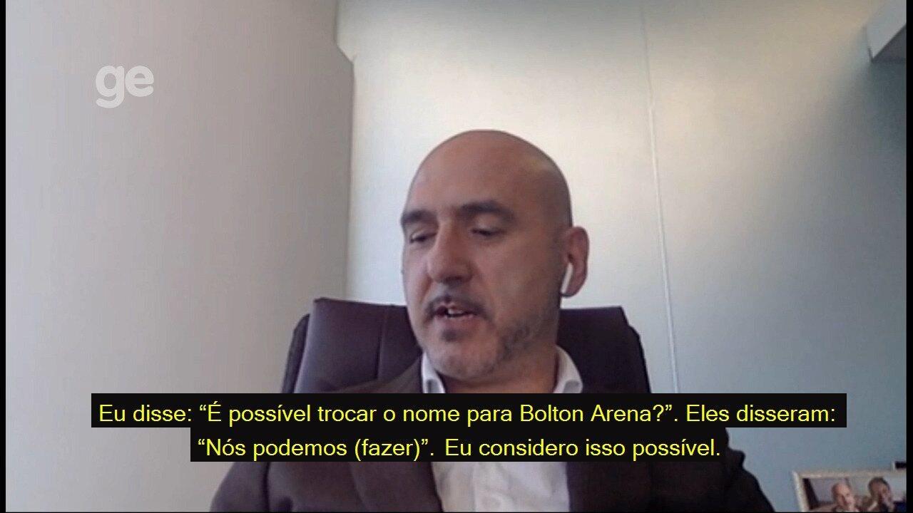 CEO da Bolton Holdings explica projeto de financiamento do Santos