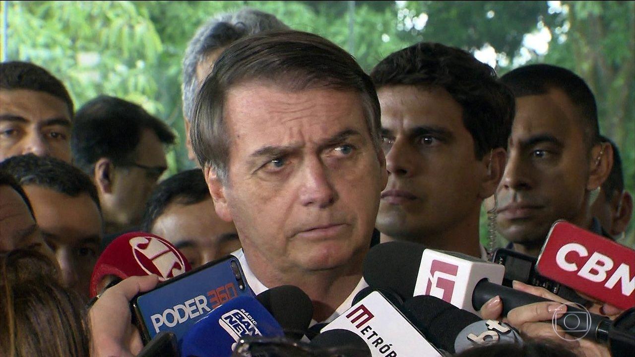 Presidente Jair Bolsonaro e Rodrigo Maia põem fim à troca de farpas