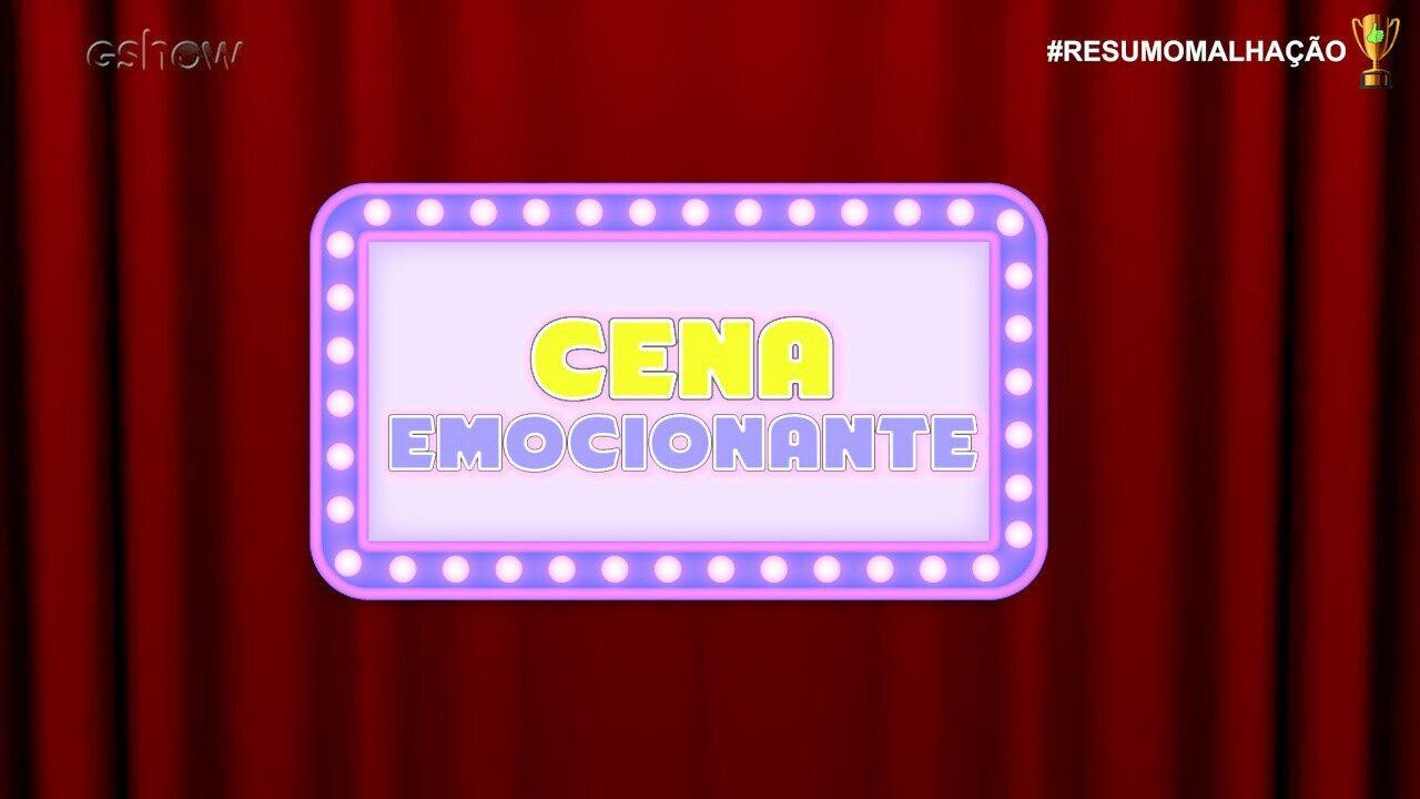 #ResumoMalhação: Prêmio Cena mais emocionante