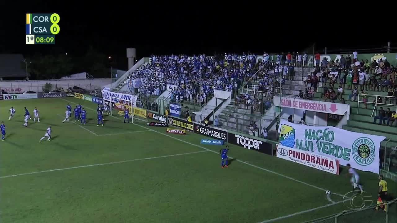Melhores momentos de Coruripe 2 x 6 CSA, pelas semifinais do Alagoano