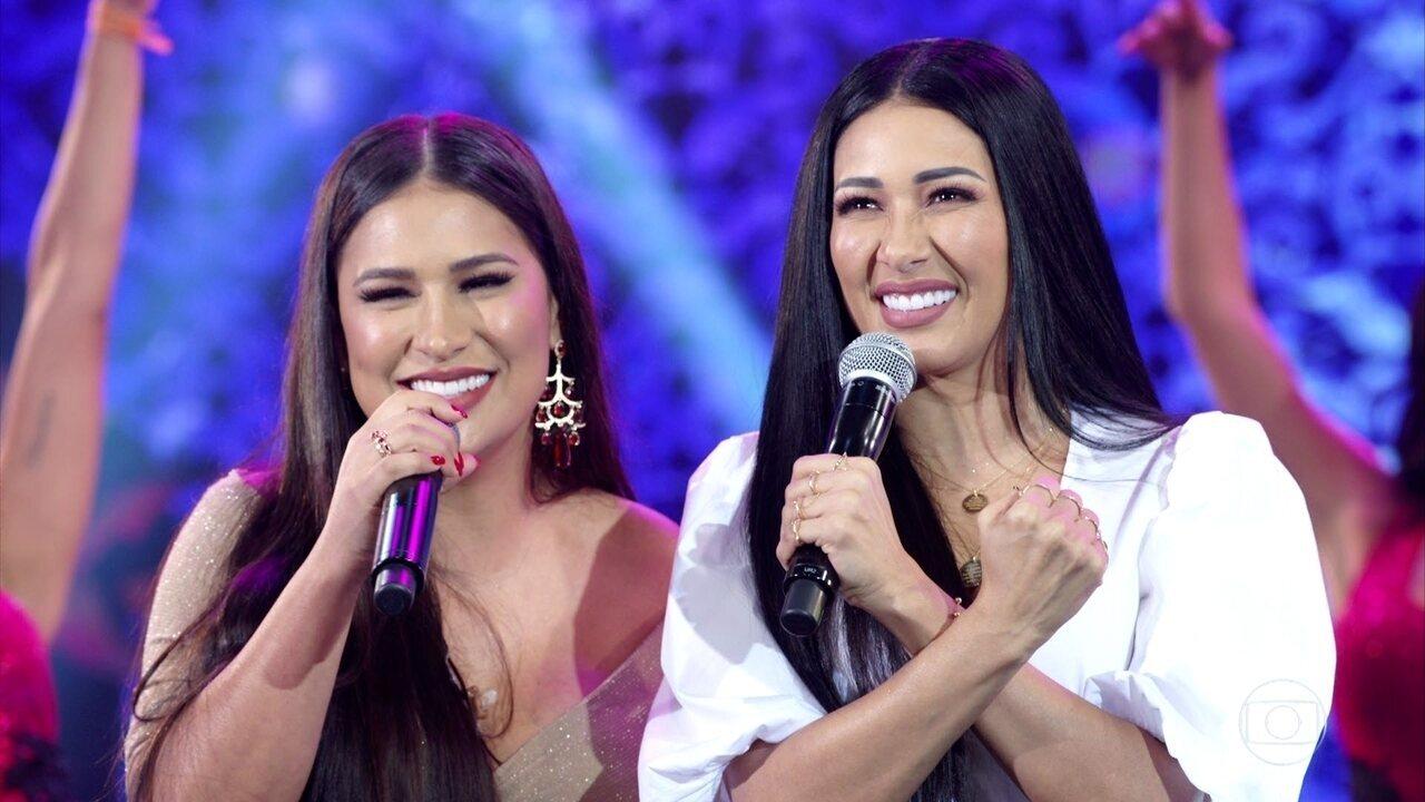 Simone e Simaria cantam 'Regime Fechado'