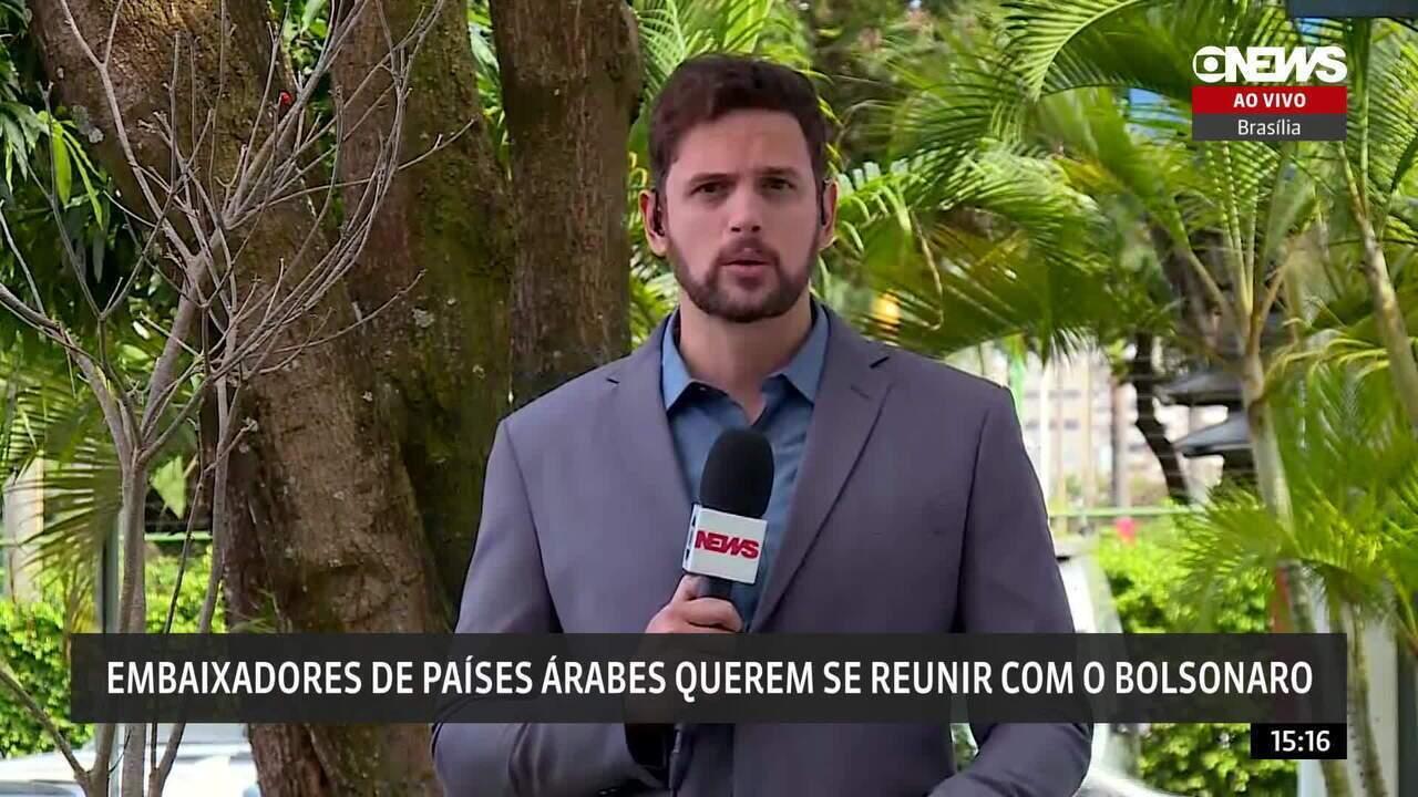Embaixadores de países árabes querem se reunir com o Bolsonaro