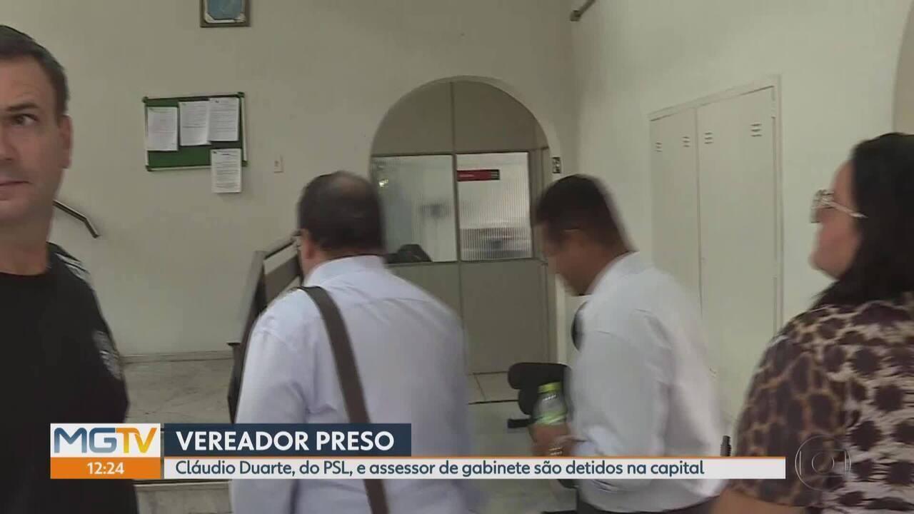 Polícia prende o vereador Cláudio Duarte (PSL) em Belo Horizonte