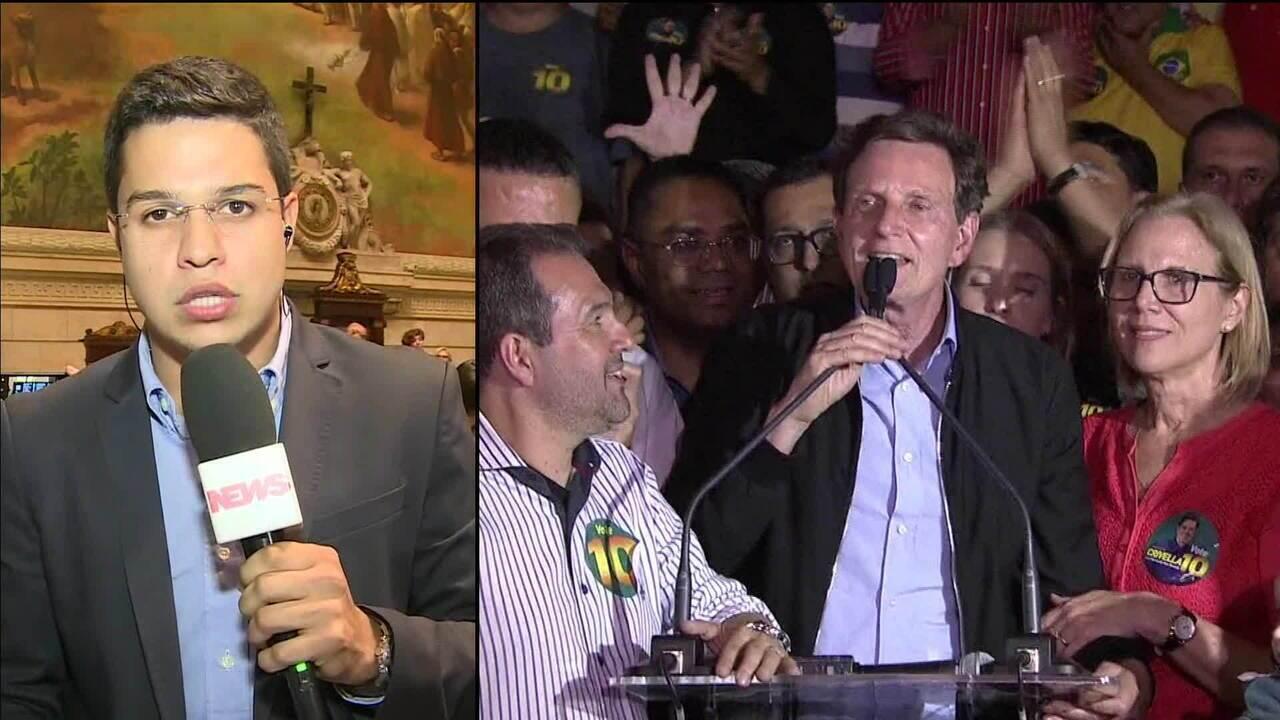 Câmara do Rio abre processo de impeachment de Crivella