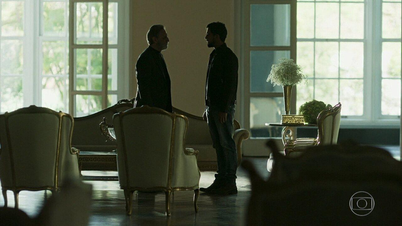 Aziz mata Salim e pede que Jamil assuma a culpa em seu lugar