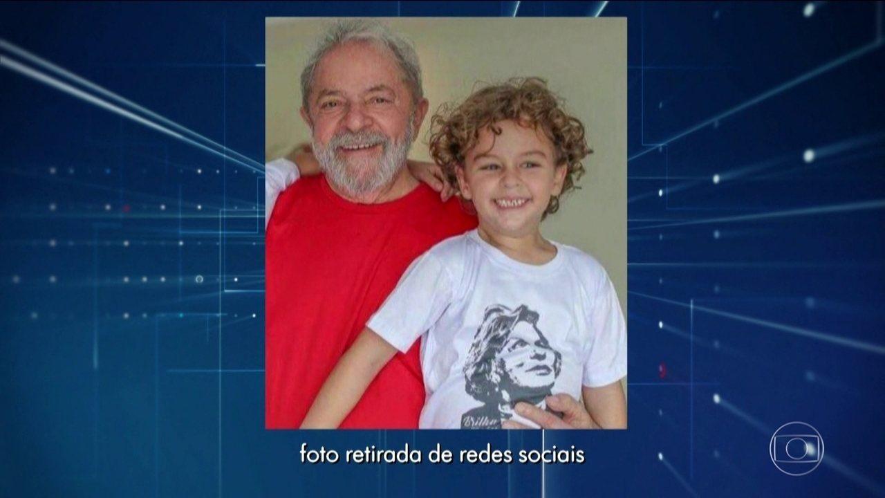 Causa da morte de neto de 7 anos de Lula não foi meningite