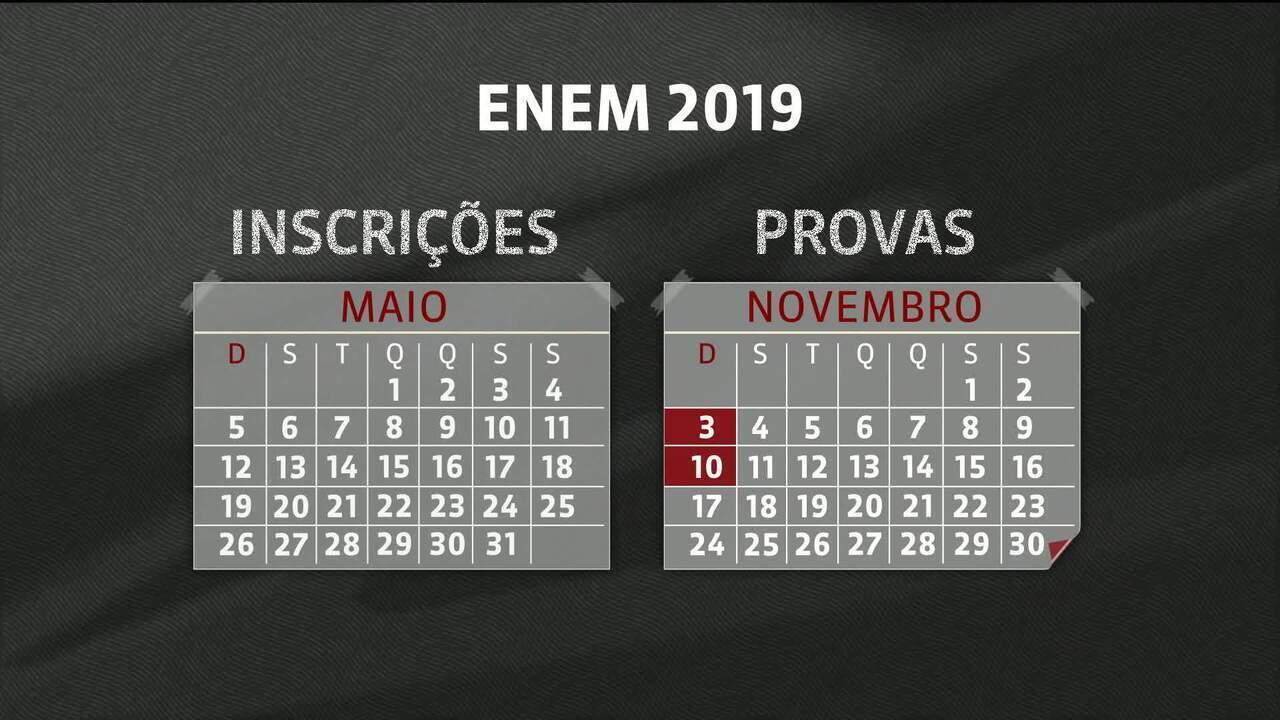 Inep garante: calendário do Enem 2019 está mantido, apesar da falência de gráfica