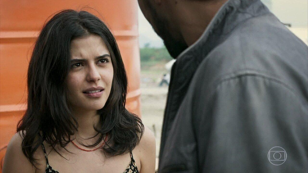 Laila e Jamil se encantam um pelo outro