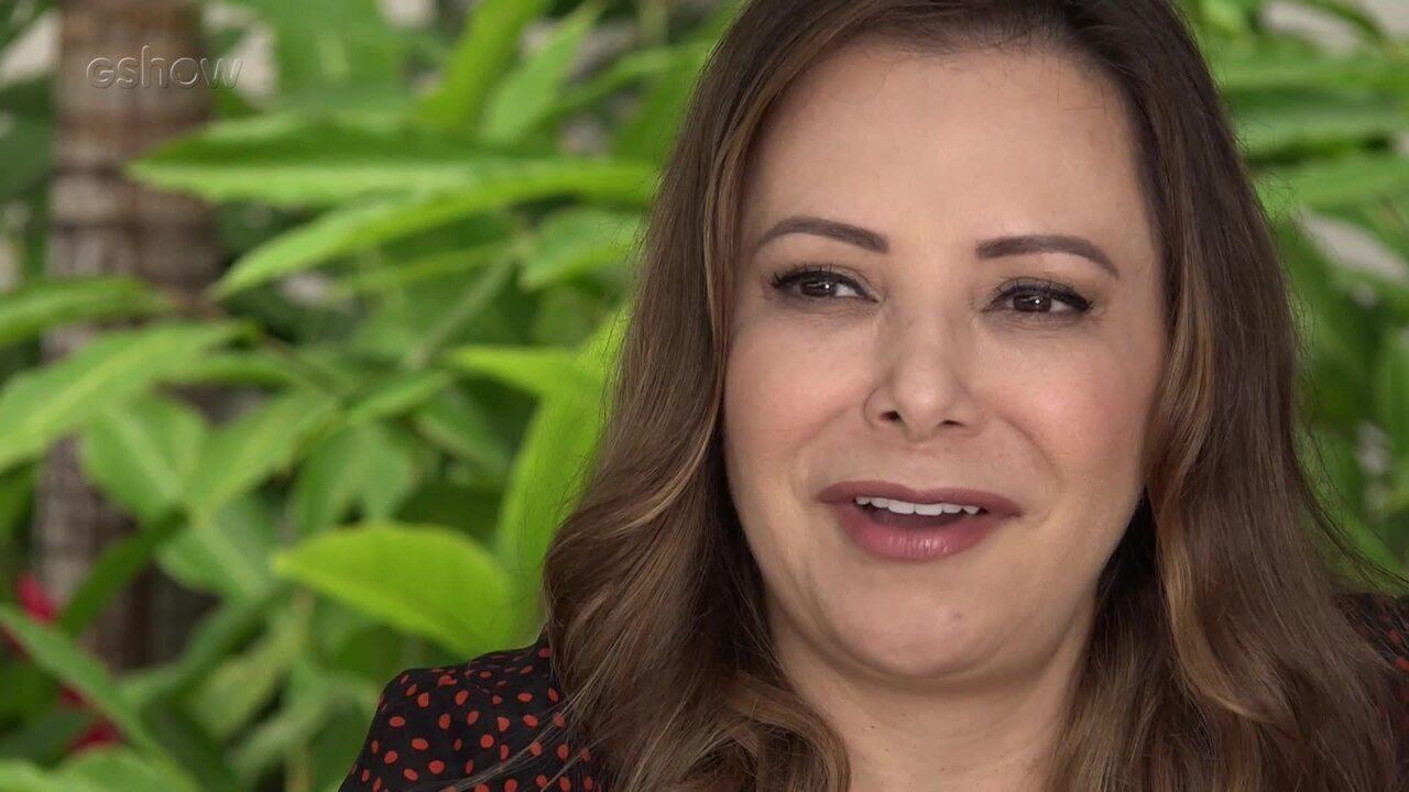 Noely fala sobre os casamentos de Sandy e Junior