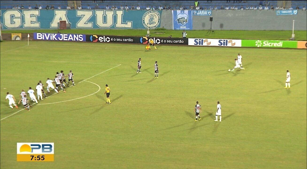 Em jogo movimentado no Paraná, Londrina e Botafogo-PB empatam em 3 a 3; resultado elimina o Belo da Copa do Brasil