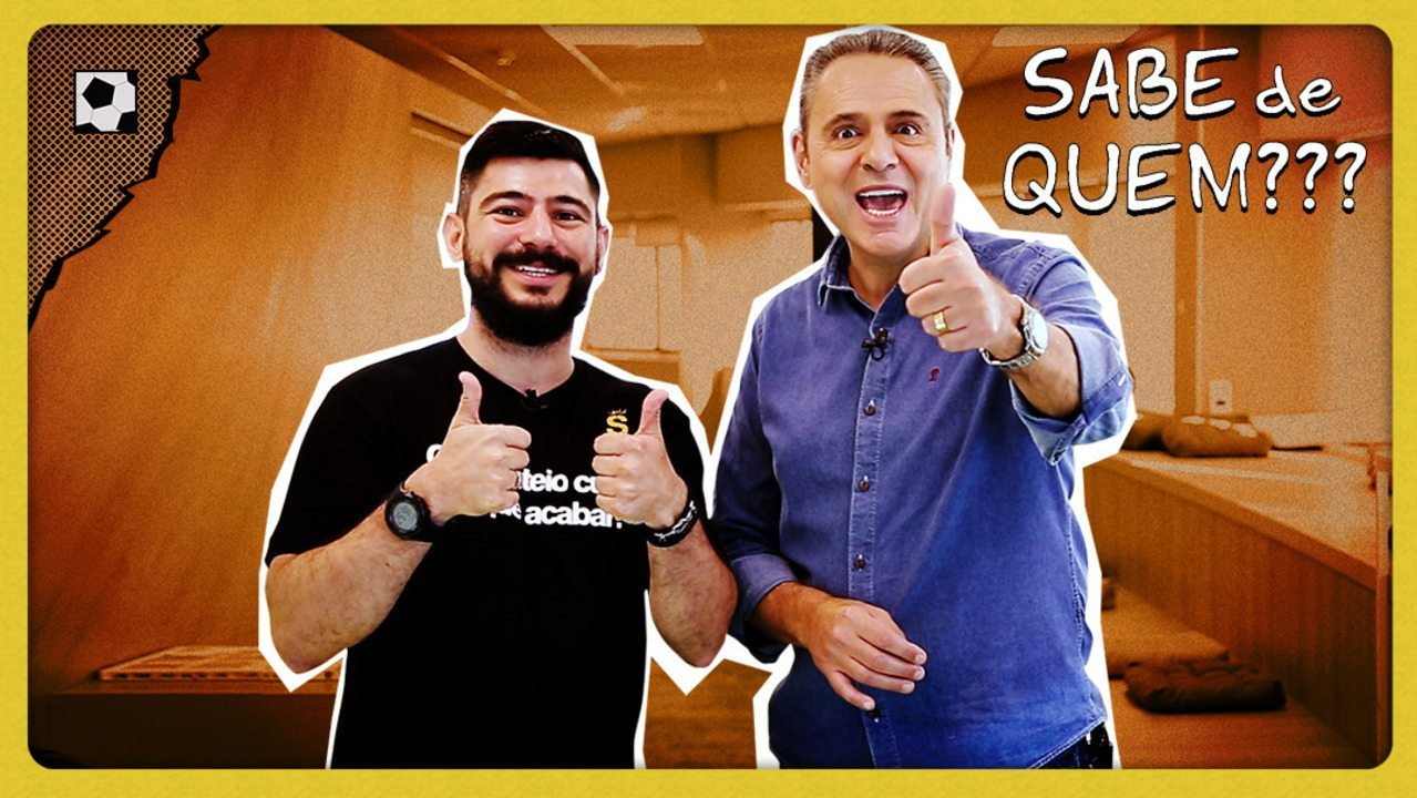 Luis Roberto encara desafio e narra nome impossível na estreia do Bola Quadrada