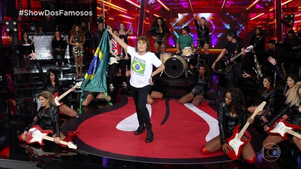 Ceará homenageia Mick Jagger